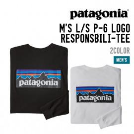 M'S L/S P-6 LOGO RESPONSIBILI-TEE